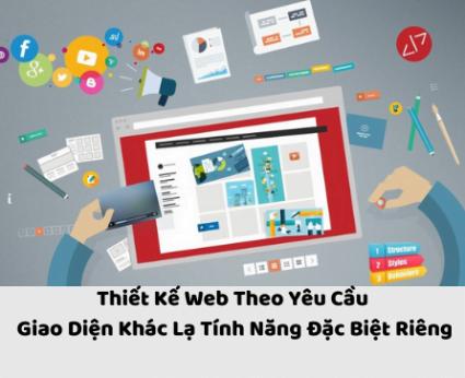 dịch vụ thiết kế web theo yêu cầu