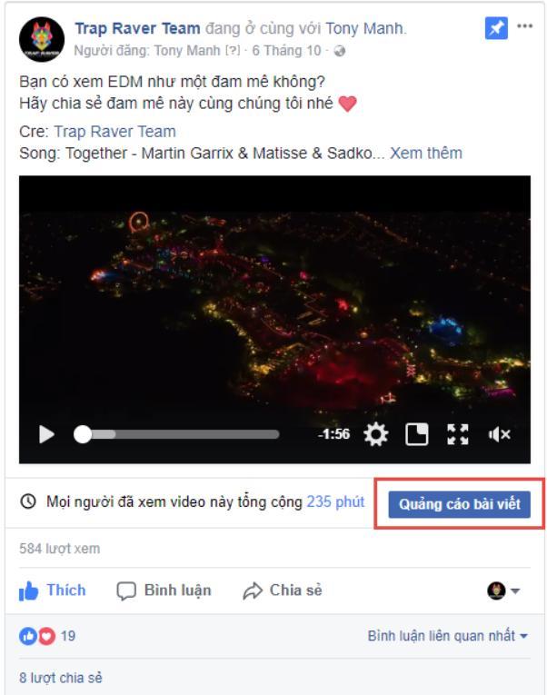 hướng dẫn chạy quảng cáo facebook 2020 quảng cáo bài viết