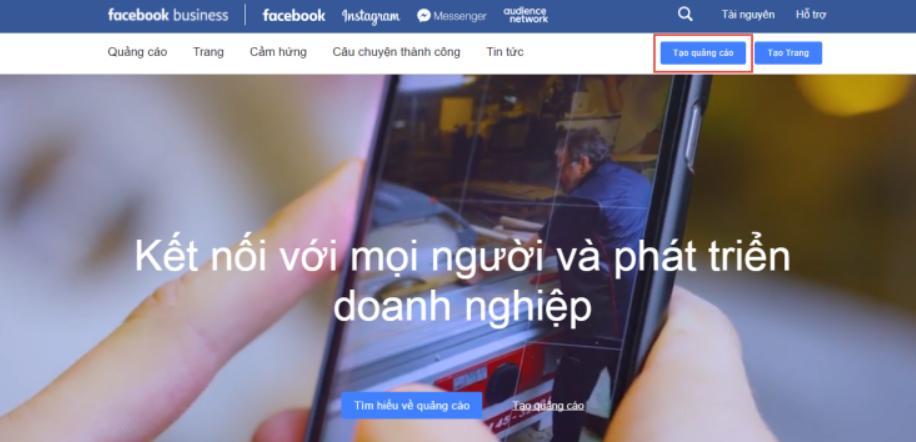 hướng dẫn chạy quảng cáo facebook 2020 tạo quảng cáo