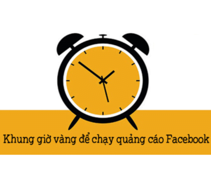 nên chạy quảng cáo facebook vào khung giờ nào