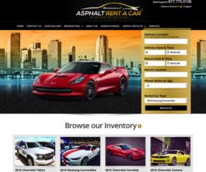 thiết kế website bán ô tô